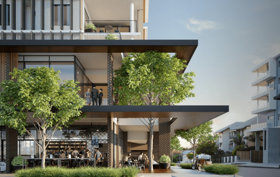 'ENCLAVE' APARTMENTS, RETAIL & OFFICE SPACE, WYNNUM